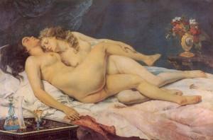 Courbet -  O Sono
